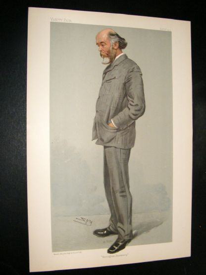Vanity Fair Print 1904 O. J. lodge | Albion Prints